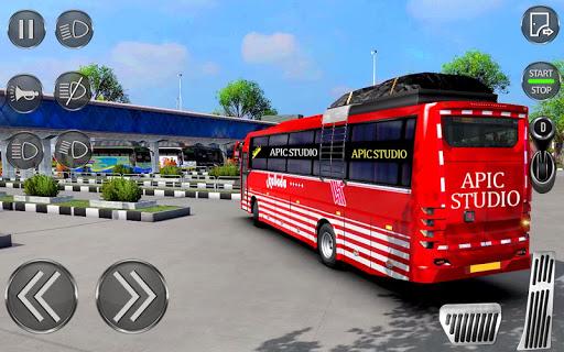 City Coach Bus Driving Sim : Bus Games 2020 screenshots 7