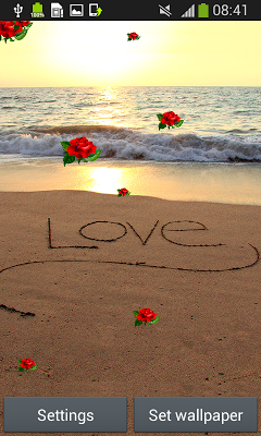 Romantic Live Wallpapers - screenshot