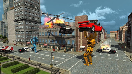 Real Robots War Steel Fighting- screenshot thumbnail