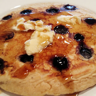 Traditional Blueberry Buttermilk Pancakes