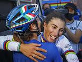 """Verrassende wereldkampioene: """"Ik hou van koersen in België, een eer om met Vos en Niewiadoma podium te delen"""""""