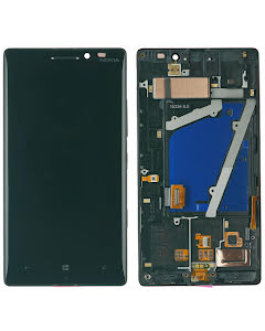 Lumia 930 display with frame Black