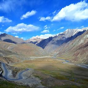 Ladakh by Siddhartha Chitranshi - Landscapes Mountains & Hills ( leh, mountain, sky, cloud, india, ladakh, landscape )
