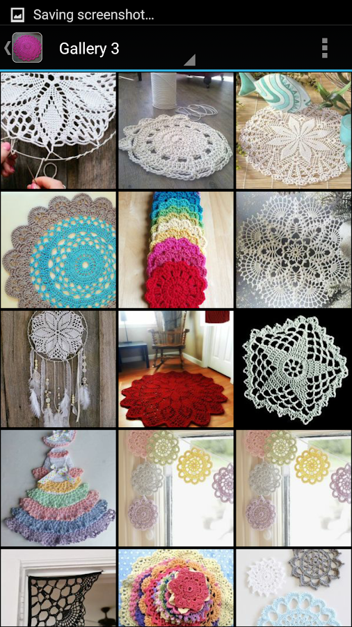 Crochet Doilies- screenshot