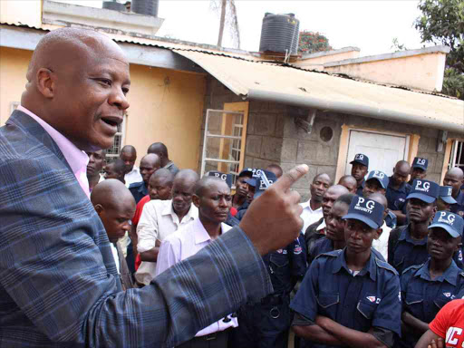 Private security guards demand higher salary, house allowance