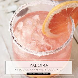 Paloma - Tequila-Grapefruit Cocktail.