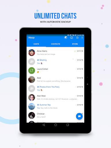 Hoop Messenger 2.23.2129 screenshots 8