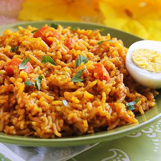 Nigerian Quick Jellof Rice