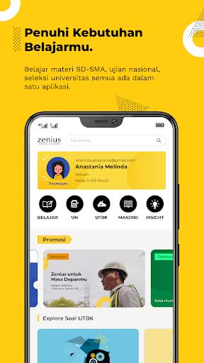Zenius - Belajar Online 1.5.0 screenshots 1