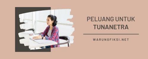 Peluang Bisnis dan Pekerjaan untuk Tunanetra