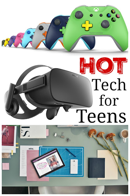 Gift giving made easy - hot tech for teens including the Microsoft Surface Pro