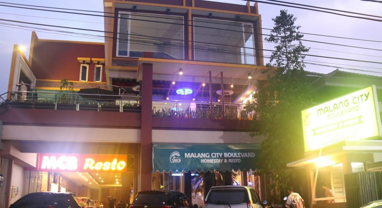Malang City Boulevard Homestay and Resto