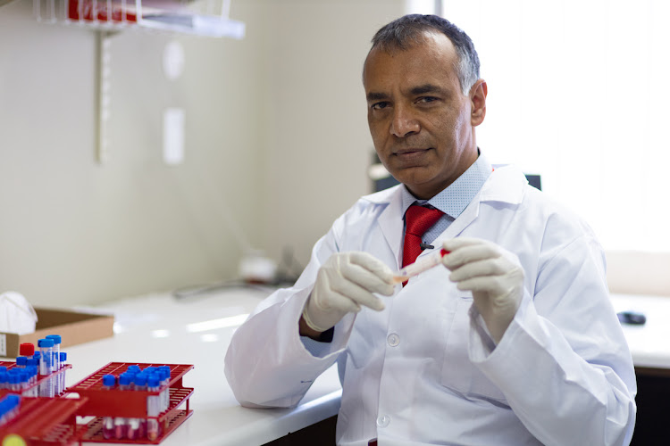 Professor Shabir Madhi. Picture: SUPPLIED/WITS