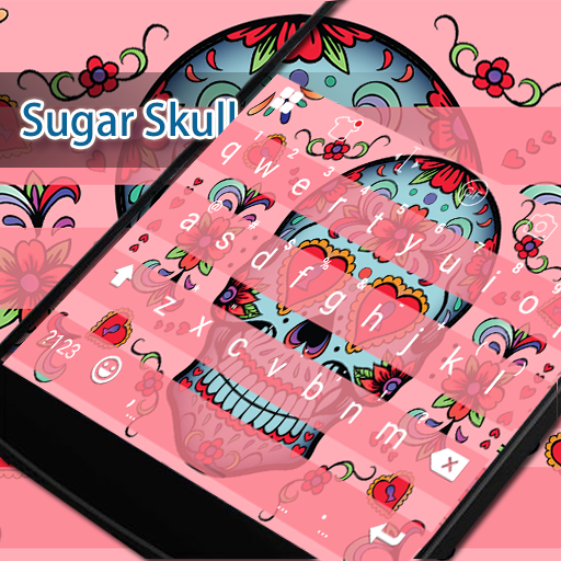 Sugar Skull Eva Keyboard -Gifs 遊戲 App LOGO-APP開箱王