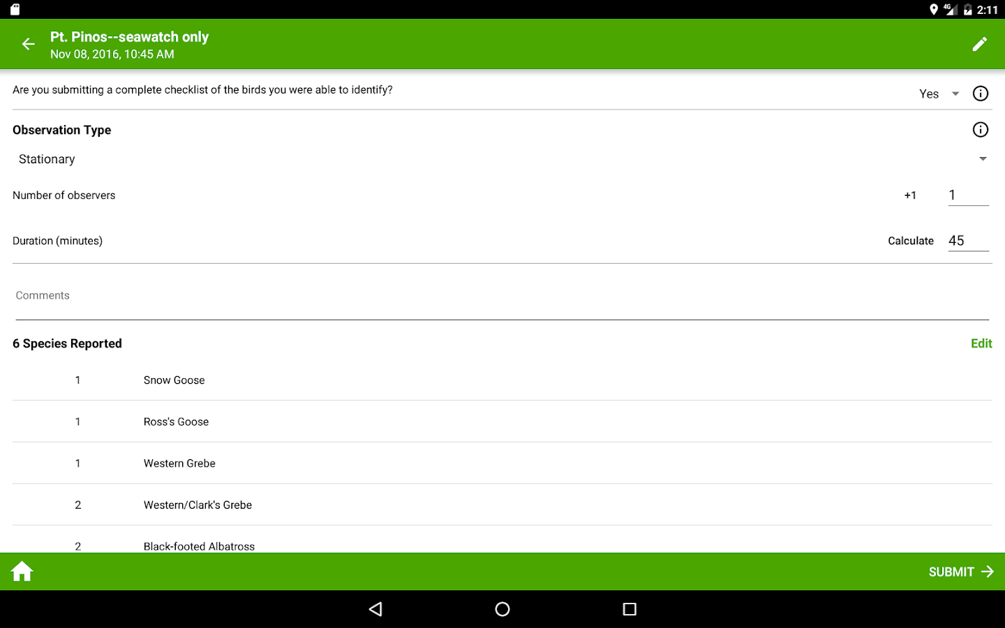 ebird by cornell lab android apps on google play