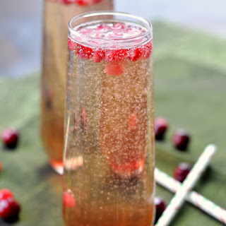 Pomegranate Rosemary Mimosa.