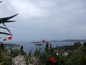 Photo: Uitzicht boven Hvar