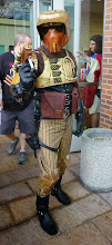 Photo: A very cool steampunk Imperial Scout trooper