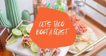 Let's Taco Bout a Feast - Facebook Event Cover template