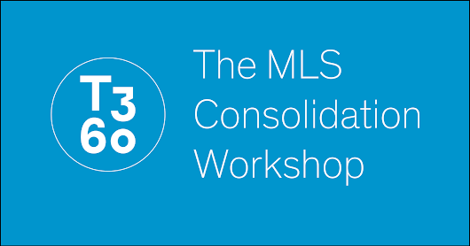 The 2018 MLS Consolidation Workshop