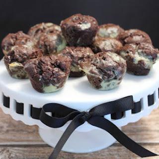 Thin Mint Avocado Brownie Bites