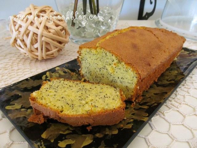 Лимонов кейк с маково семе