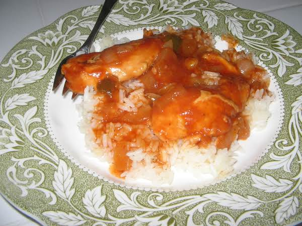 Crockpot Sloppy Chicken And Rice Recipe