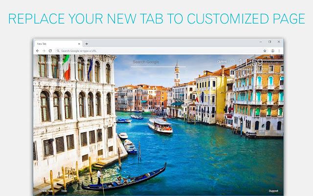 City Wallpaper - Cityscape HD New Tab Themes