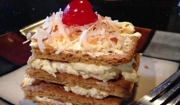 PiÑa Colada Tower Cake Recipe