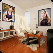 Interior Dual Photo Frames