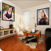 Interior Dual Photo Frames