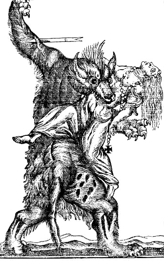 Image result for public domain werewolf commons