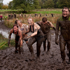 Tough Mudders - Out of the Mire by Phil Portus - Sports & Fitness Other Sports ( course, extreme, 2013, fitness, sport, tough mudder, cholmondeley )
