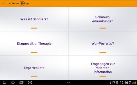 schmerzApp screenshot 5