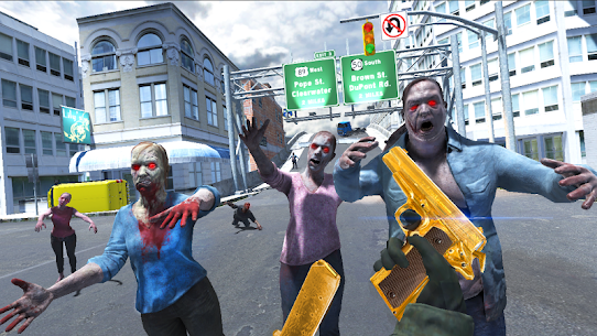 Zombie Shooter: Force Fury (Shooting Game) 1.0.4 APK Mod Latest Version 1