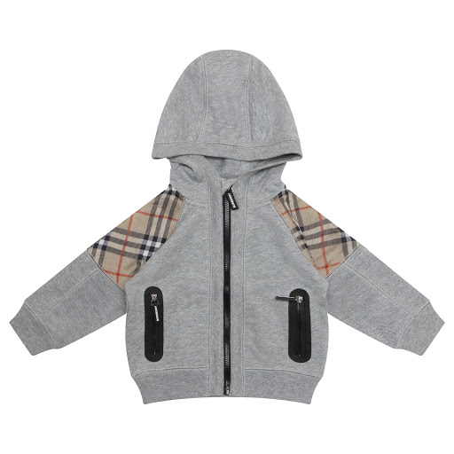 Primary image of Burberry Hooded Zip Up Top