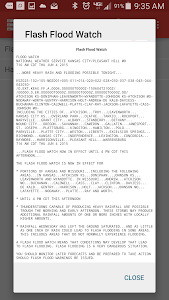 Storm Alert Lightning & Radar screenshot 21