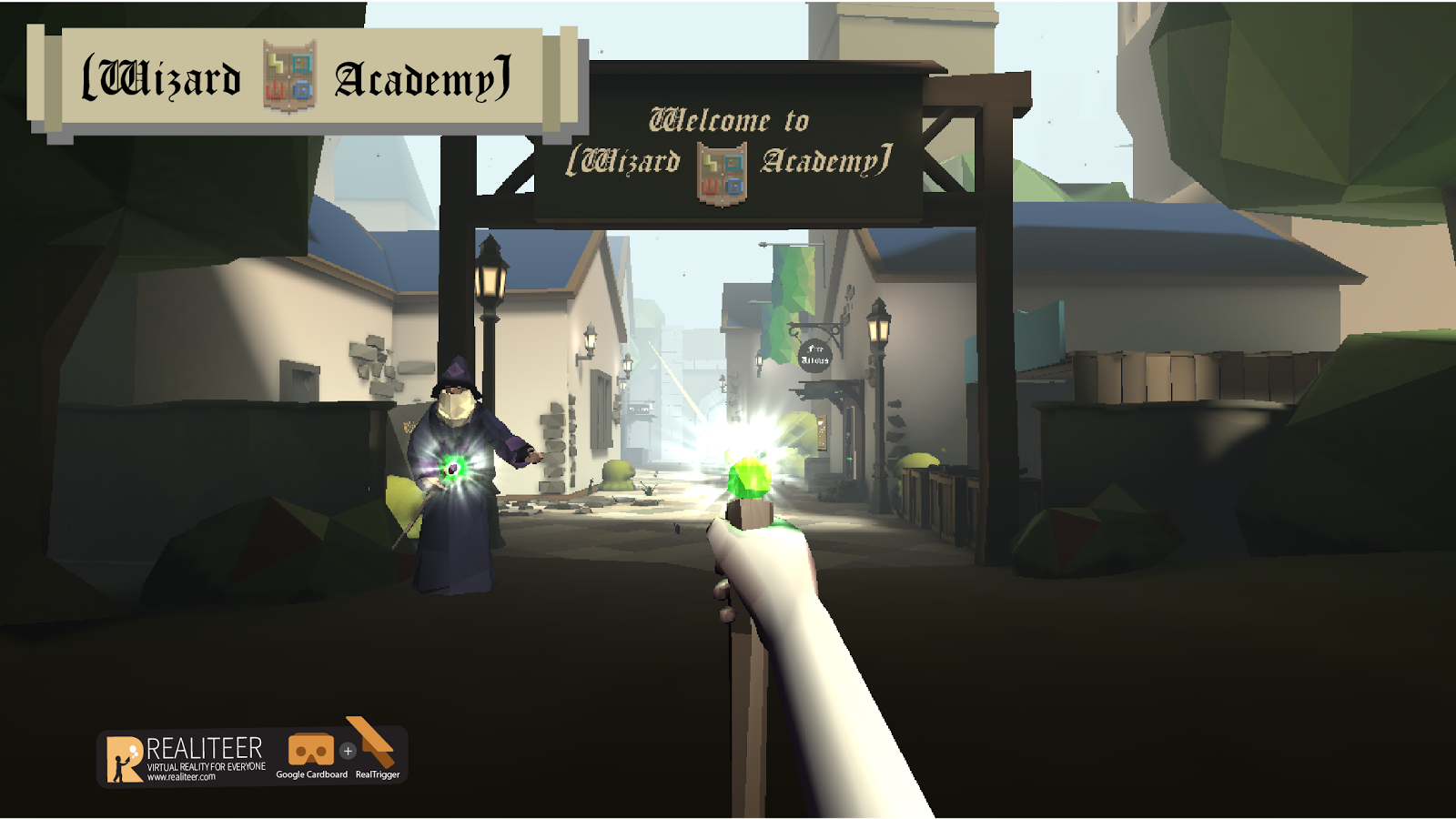 Wizard Academy VR- screenshot