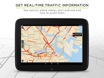 TomTom GPS Navigation Traffic Screenshot 9