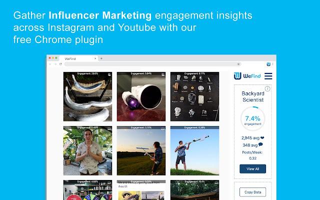 Social Media Analytics by WeFind