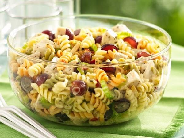 Chicken Pasta Salad W/ Dijon Vinaigrette Recipe