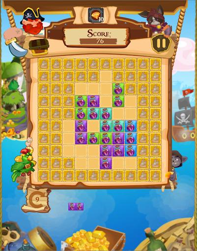 玩免費解謎APP|下載Block Puzzle Pirate 塊拼圖海盜的托爾圖加 app不用錢|硬是要APP
