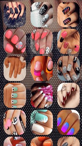 指甲藝術設計時尚