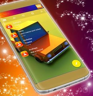 Car SMS téma 2017 - náhled