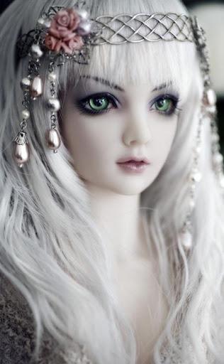 タイルパズル - 美しい人形