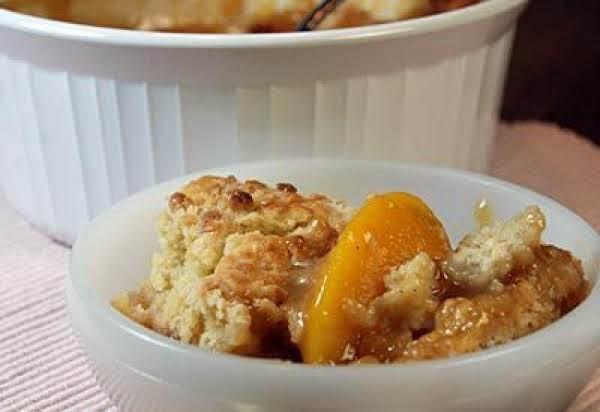 Spiced Peach Cobbler Recipe