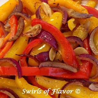 Buttery Sauteed Peppers & Onions