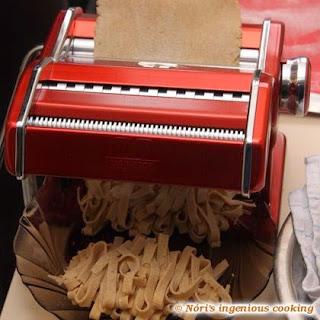 Homemade Gluten Free, Wholegrain Pasta