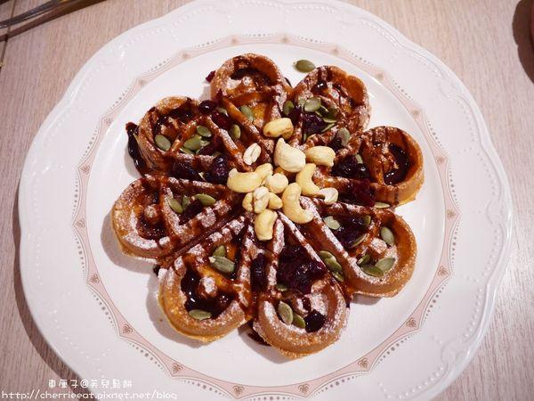 芙兒鬆餅-花瓣鬆餅。麻糬鬆餅。下午茶好良伴