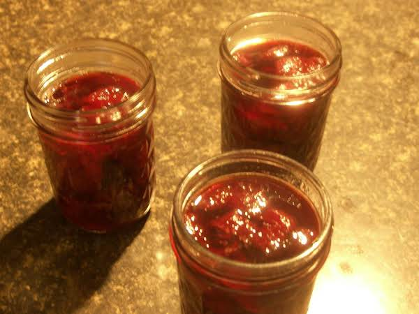 Strawberry And Pinot Noir Jam Recipe
